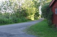 Korsningen Husarens väg -Grindmossevägen